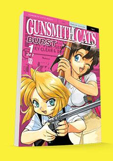 Gunsmith Cats - Burst BIG nº 01