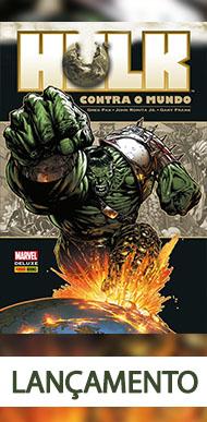 Hulk contra o Mundo Marvel Deluxe (Capa Dura)