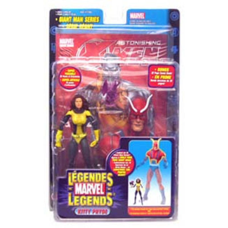 Marvel Legends - Giant Man Series - Kitty Pride (Lince Negra)