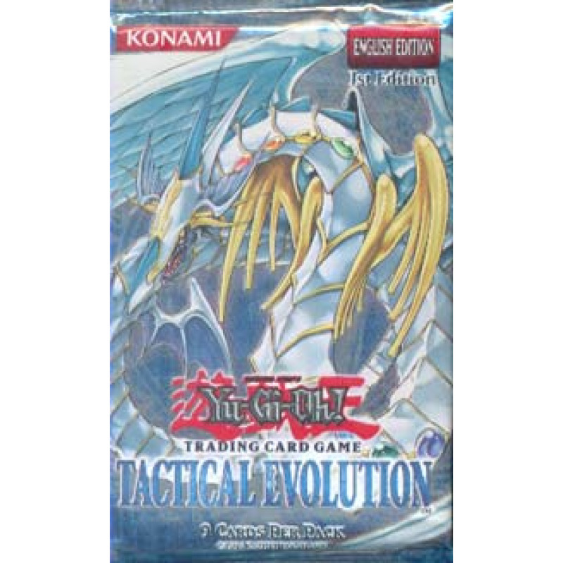 Booster Yu-Gi-Oh - Tactical Evolution