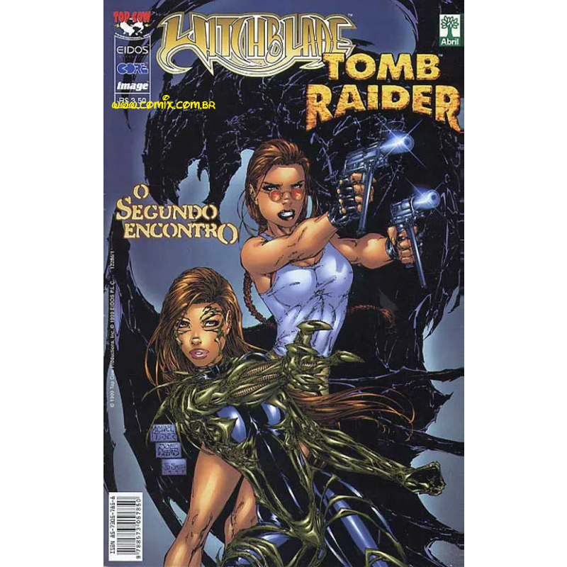 Witchblade & Tomb Raider - O Segundo Encontro