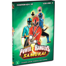 DVD Power Rangers Samurais - Temporada 18 Vol. 03