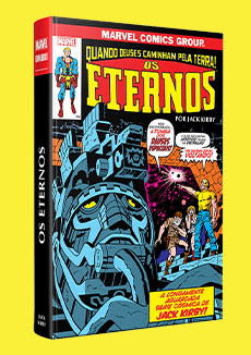 Eternos Por Jack Kirby Marvel Omnibus
