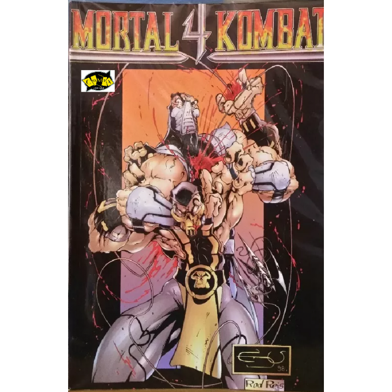 Mortal  Kombat 4 Mini-Série Completa (TRAMA EDITORIAL)-1998