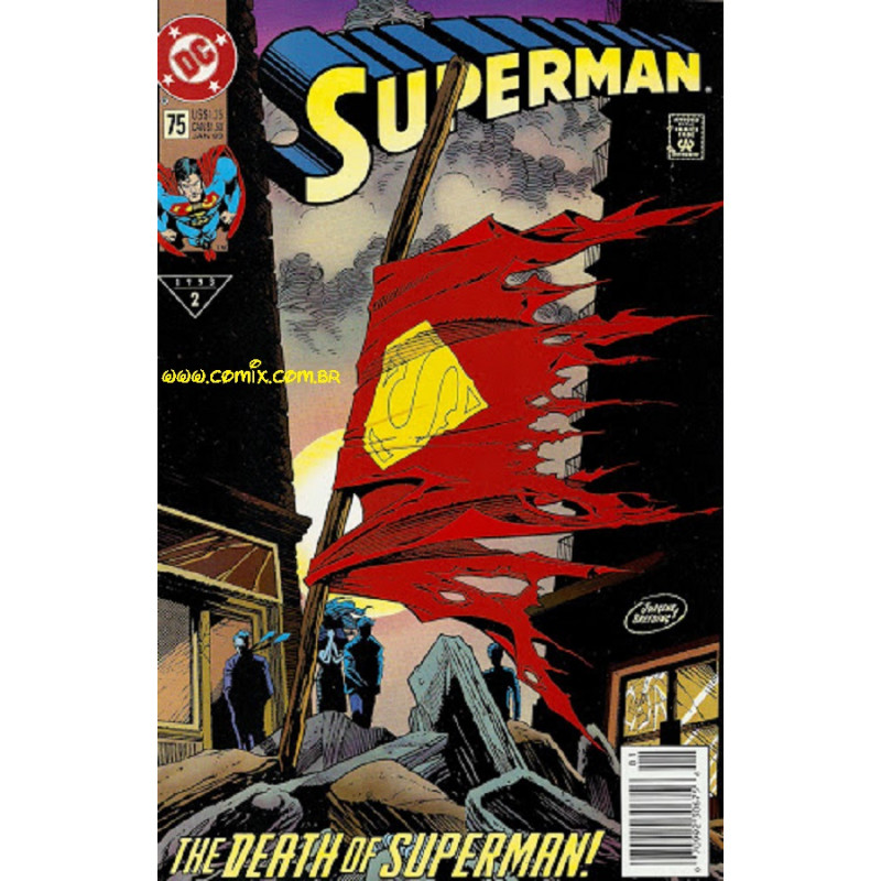 Superman # 75 The Death Of Superman